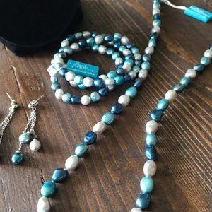 NWT Cultured Pearls Set